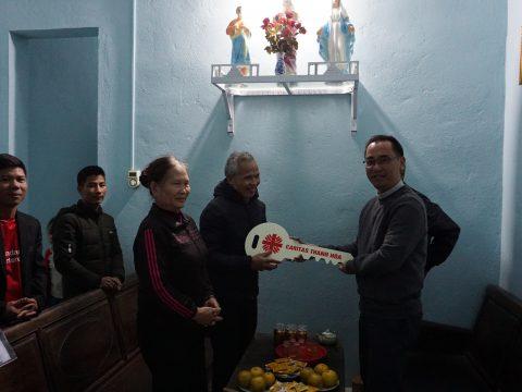 Caritas Thanh Hóa Tặng Nhà Tình Thương