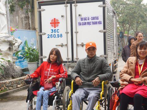 Caritas Thanh Hóa: Giao Lưu Mừng Xuân Giữa Người Khuyết Tật Và Người Có H