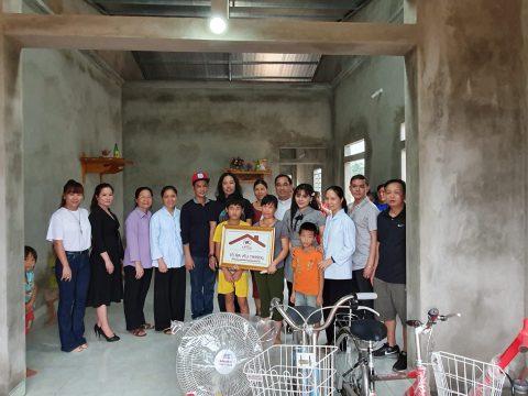 Caritas Thanh Hóa cùng với Các Vị Ân Nhân Trao Tặng Nhà Tình Thương