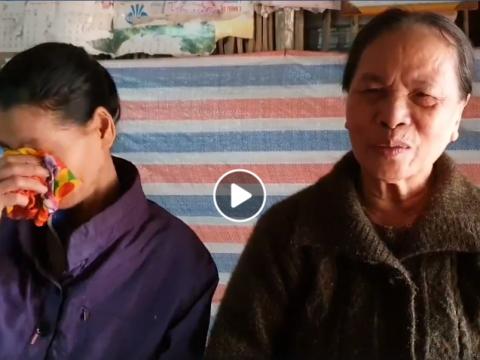 Gia cảnh của bà Lê Thị Hương, xã Yên Thái, huyện Yên Định, tỉnh Thanh Hoá