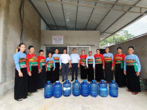 Hội Bác Ái Phanxico và Pacific Nails Corp, Cary, NC  tài trợ hệ thống lọc nước sạch cho giáo xứ Dương Giao, giáo phận Thanh Hoá